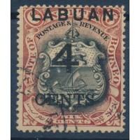 Labuan - Numéro 87 - Oblitéré