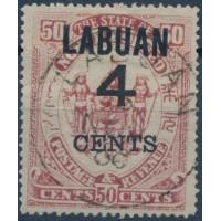 Labuan - Numéro 92 - Oblitéré