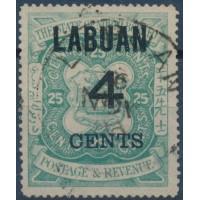 Labuan - Numéro 93 - Oblitéré