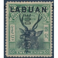 Labuan - Taxe 1 - Oblitéré