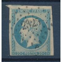 France - Numéro 14 A D - Oblitéré