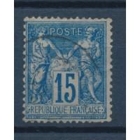 France - Numéro 90 a - Oblitéré