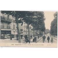 CPA - (78) Argenteuil, Grande Rue, vue prise de la Gare