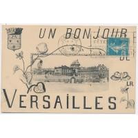 CPA - (78) Versailles - Un Bonjour de Versailles