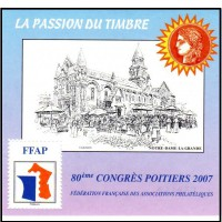 Bloc FFAP numéro 1 de 2007 - Neuf