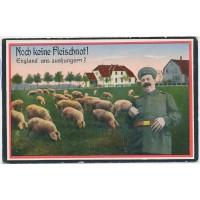 Carte Postale Ancienne - Propagande Allemande 1914-18