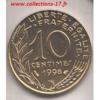 10 Centimes Marianne 1998