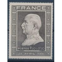 France - Numéro 606 - Neuf avec Charnière