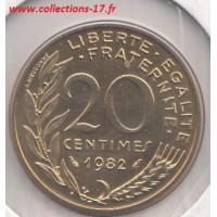 20 Centimes Marianne 1982