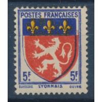 France - Numéro 572 E - Neuf avec Charnière