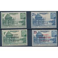 Dahomey - Numéro 149 à 152 - Neuf avec Charnière