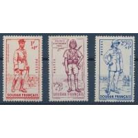 Dahomey - Numéro 142 à 144 - Neuf avec Charnière