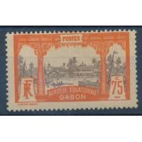 Gabon - Numéro 62 - Neuf avec Charnière