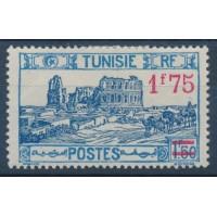 Tunisie - Numéro 184 - Neuf avec Charnière