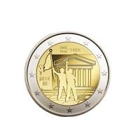 2 Euros Belgique 2018 - Coin Card 50ans Mai 68'