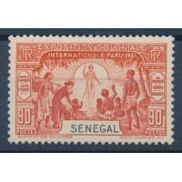 Sénégal - Numéro 112 - Neuf avec Charnière