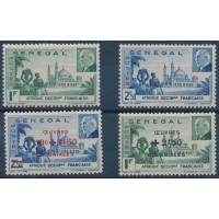 Sénégal - Numéro 177 à 178 & 187 à 188 - Oblitéré & Charnière