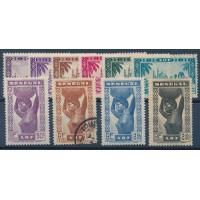 Sénégal - Numéro 160 à 169 - Oblitéré & Charnière