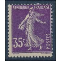 France - Numéro 142 - Neuf avec Charnière