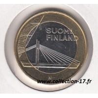 5 Euro Finlande 2012 - Les Bâtiments Provinciaux - Lapland