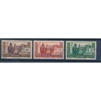 Colonie France AEF - Numéro 98 à 100 - Oblitéré