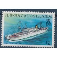 Turks Island - Numéro 643 - Neuf sans Charnière