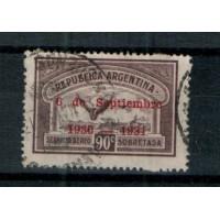 Timbres d'Argentine - PA 19J - Oblitéré