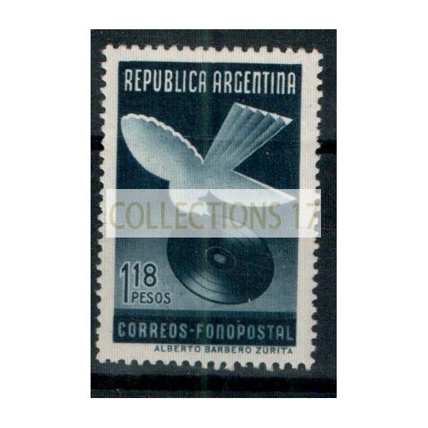 Timbres d'Argentine - Numéro 409 - Neuf avec charnières