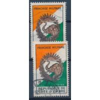 Cote d'Ivoire - Franchise Militaire 1 - Oblitéré