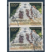 Cote d'Ivoire - Numéro 645 B - Oblitéré