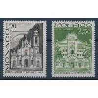 Monaco - Numéro 1573 à 1574 - Neuf sans Charnière
