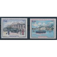 Monaco - Numéro 1643 à 1644 - Neuf sans Charnière