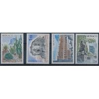 Monaco - Numéro 1214 à 1217 - Neuf avec Charnière