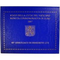 Vatican 2 Euros Commémorative 2007 - Qualité BU