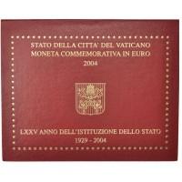 Vatican 2 Euros Commémorative 2004 - Qualité BU