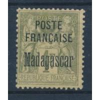 Madagascar - Numéro 21 - Neuf avec charnière