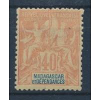 Madagascar - Numéro 37 - Neuf avec charnière