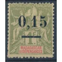 Madagascar - Numéro 55 - Neuf avec charnière
