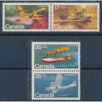 Canada - Numéro 721 à 724 - Neuf sans charnière