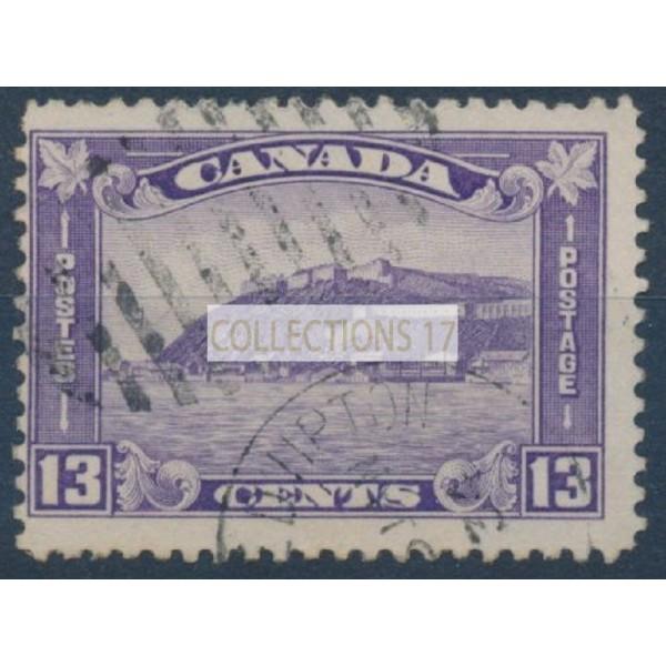 Canada - Numéro 167 - Oblitéré