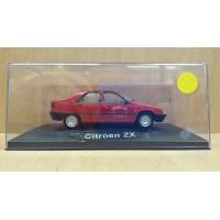 Citroen ZX dans sa boite cristale (plexi), 1/43, Modele presse reconditioné