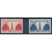 France - Numéro 911 à 912 - Neuf avec Charnières