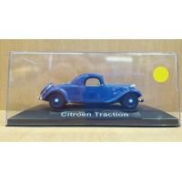 Citroen Traction dans sa boite cristale (plexi), 1/43, Modele presse reconditioné