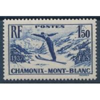 Timbre de France - Numéro 334 - Neuf avec Charnière