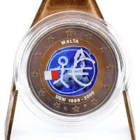2 Euros Malte 2012 - Colorisé Neuf
