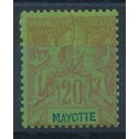 Mayotte - Numéro 7 - Neuf avec charnière