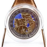 2 Euros Italie 2002 - Colorisé Neuf