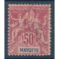 Mayotte - Numéro 11 - Oblitéré