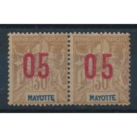 Mayotte - Numéro 26 Paire - Neuf avec charnière