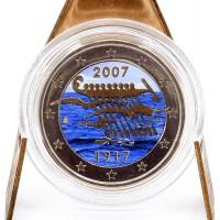 2 Euros Finlande 2009 - Colorisé Neuf